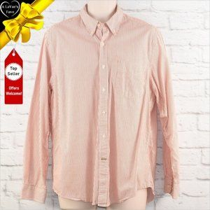 CLUB ROOM Slim Fit Striped Button Down Shirt